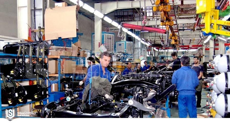 بررسی رشد ماهانه تولید صنعتی در اردیبهشت 1400