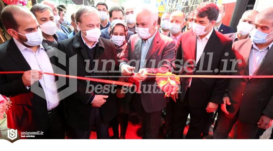 افتتاح یک واحد تولیدی نخ در یزد با حضور وزیر صمت