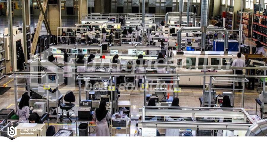 رشد ۲ برابری سرمایهگذاری صنعتی در سال ۹۹