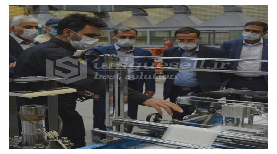 ترخیص مواد اولیه تولید ماسک با دستور وزیر صمت