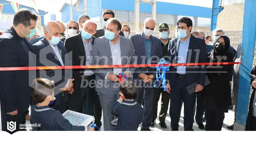 افتتاح واحدهای تولیدی شهرک بزرگ صنعتی شیراز با سرمایه گذاری  ۱۱۰ میلیارد ریالی
